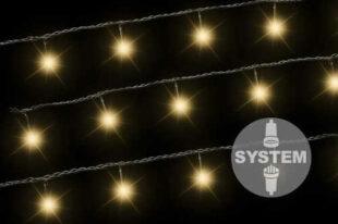 DiLED vianočná svetelná reťaz – 100 LED diód