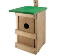 Drevená hniezdna búdka pre malé vtáky