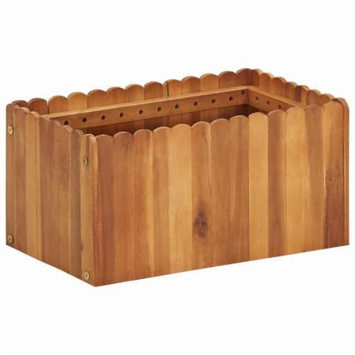 Truhlica z agátového dreva v pôsobivom dizajne