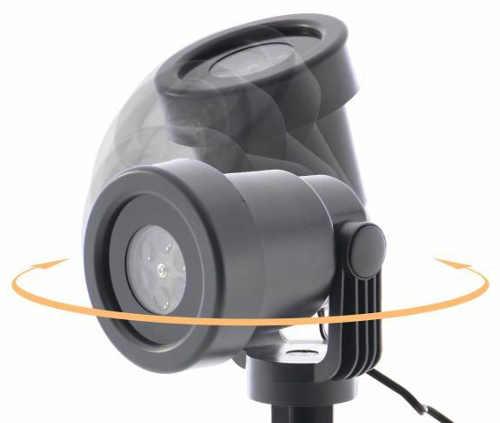 Variabilné otáčanie projektorov podľa potreby