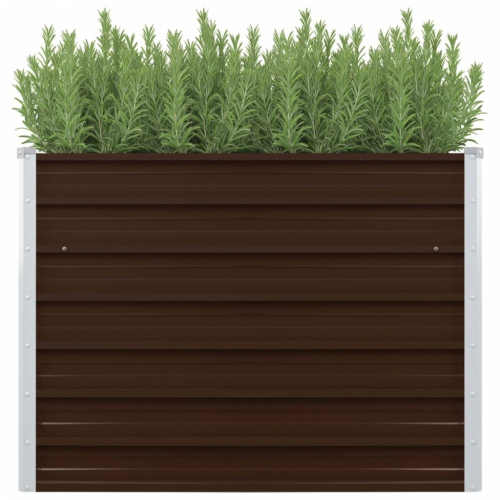 Vyvýšený záhradný box v rôznych farbách