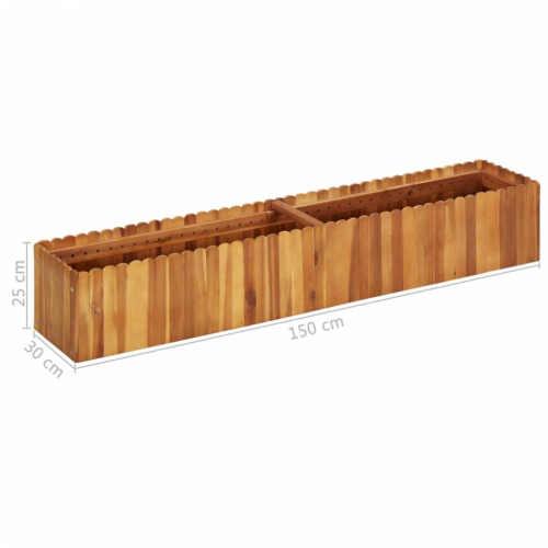 Záhradná moderná truhlica z dreva