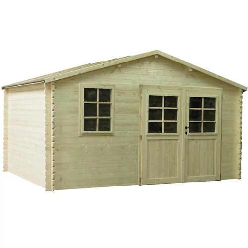 Záhradný domček 400×400 cm zo smrekového dreva