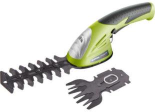 Akumulátorové nožnice na trávu a živý plot Extol Craft 415120