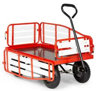 Ručný vozík Waldbeck Ventura na prepravu ťažkých nákladov v záhrade