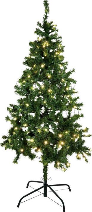 Umelý vianočný stromček 180 cm vrátane LED osvetlenia