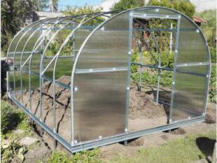 Záhradný skleník vhodný aj do vyšších oblastí